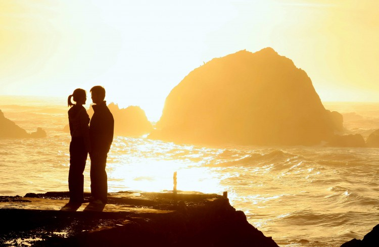 Couples At Sunset wallpaper