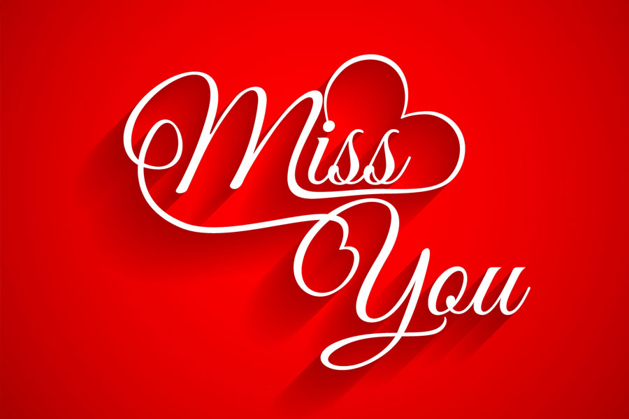HD I Miss You Wallpaper