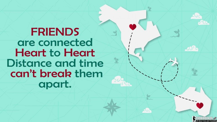 best friend distance quotes