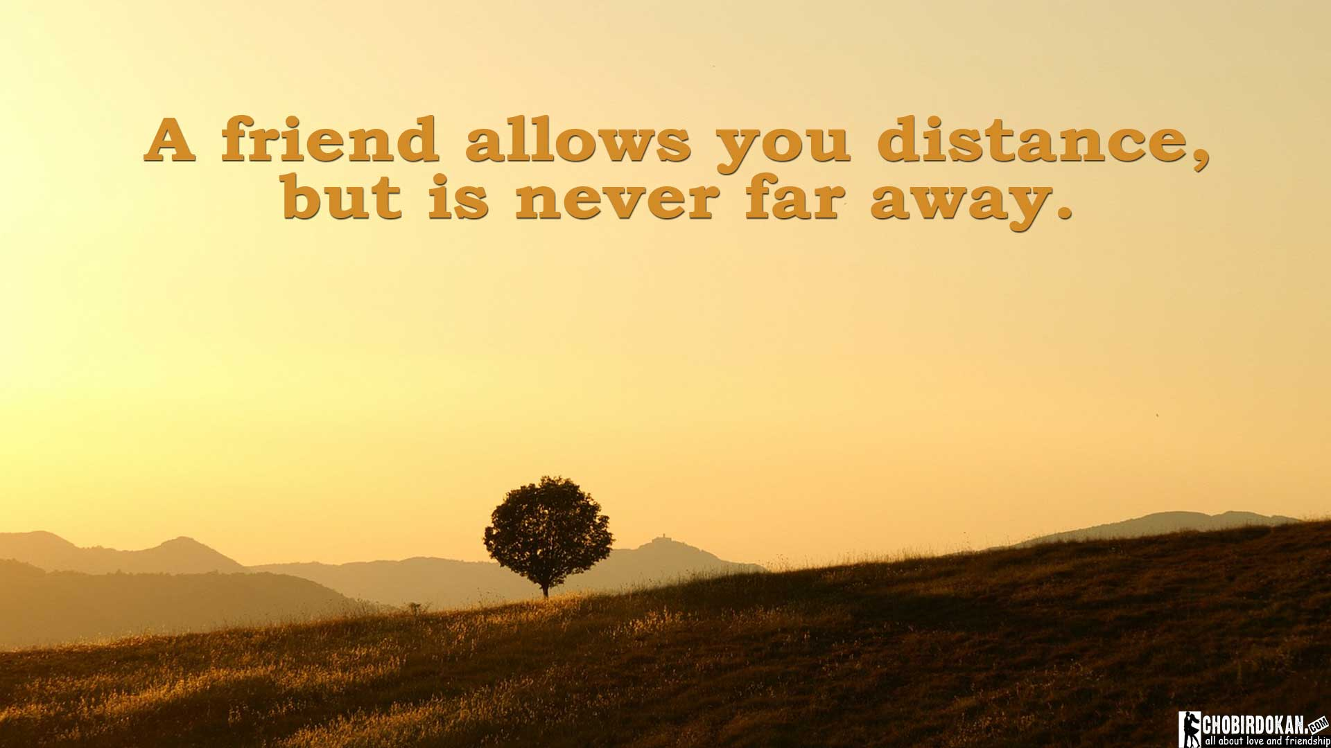 20+ Long Distance Friendship Quotes Images -Chobirdokan