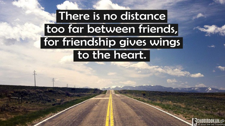 friendship distance quotes