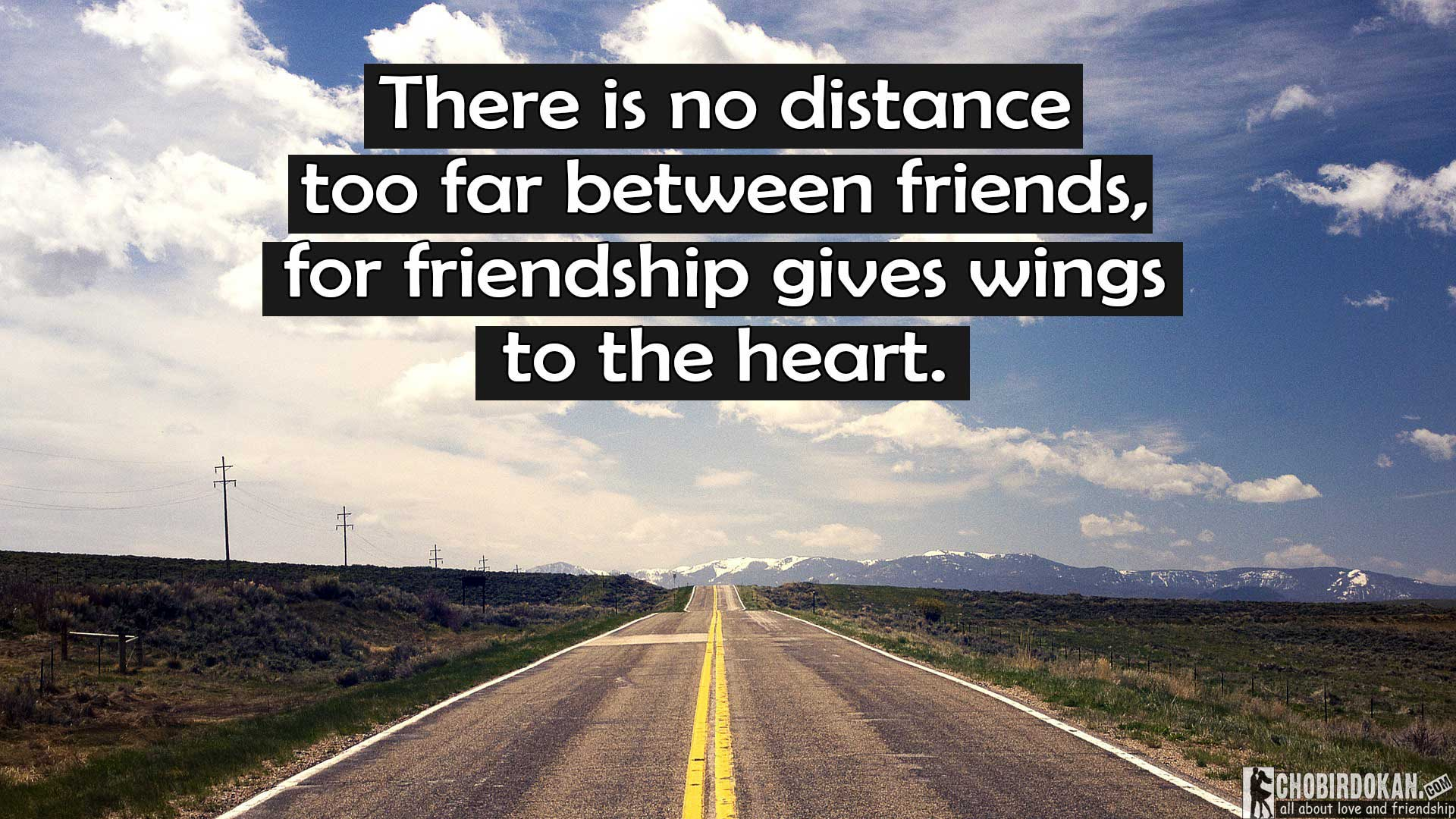 20 Long Distance Friendship Quotes Images Chobirdokan