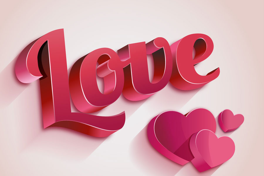 3d love wallpapers hd