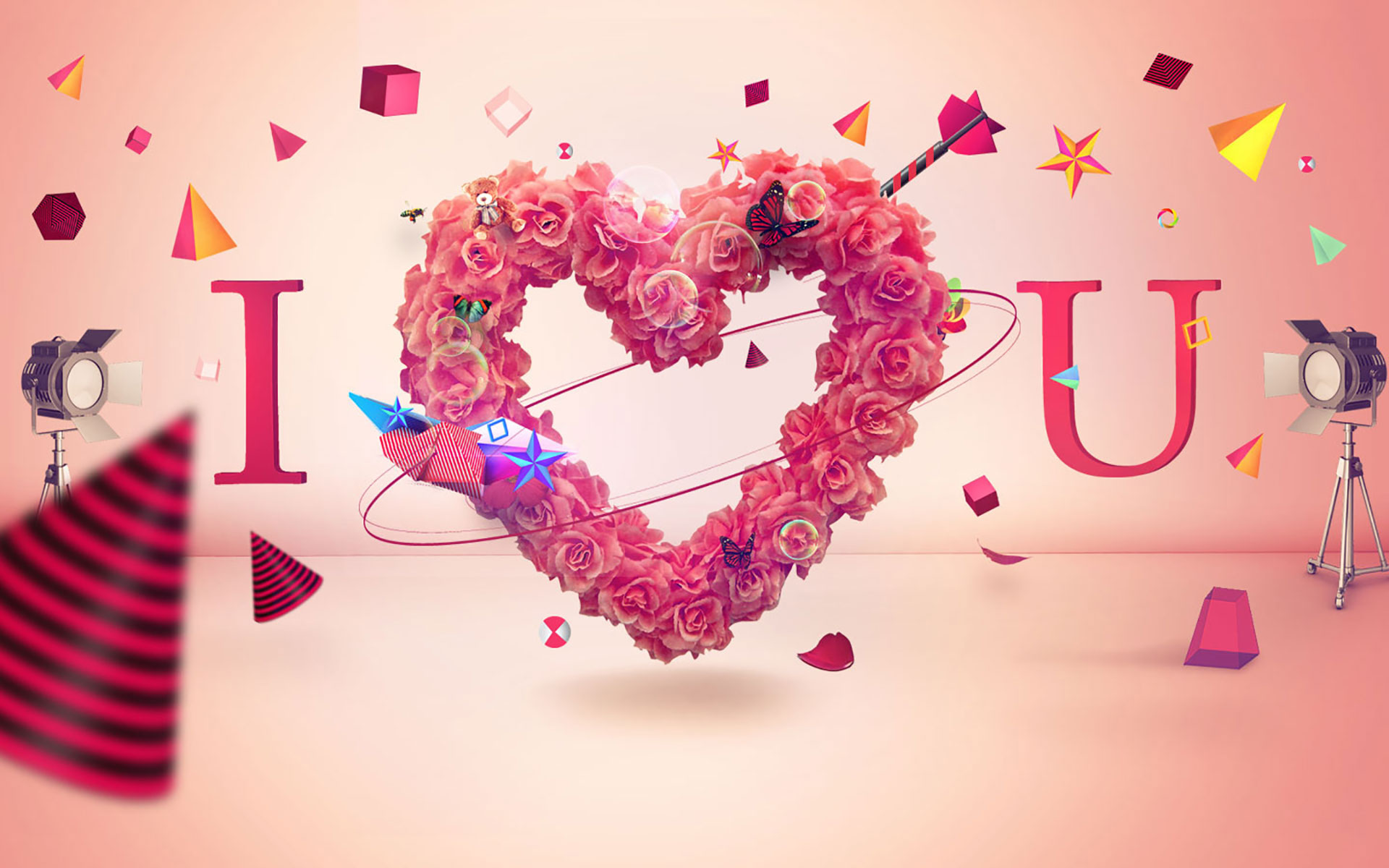 25 Free HD I Love You Wallpapers