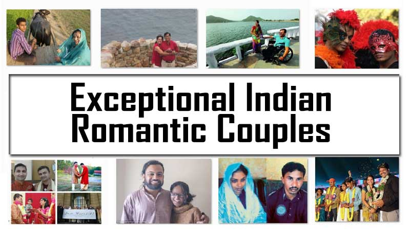 Exceptional Indian Romantic Couples -Real Life Indian Love Couples