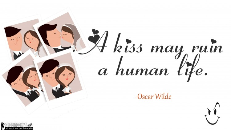 kiss images with quotes