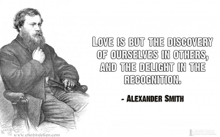 alexander smith love quotes