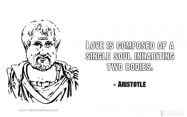 aristotle love quotes