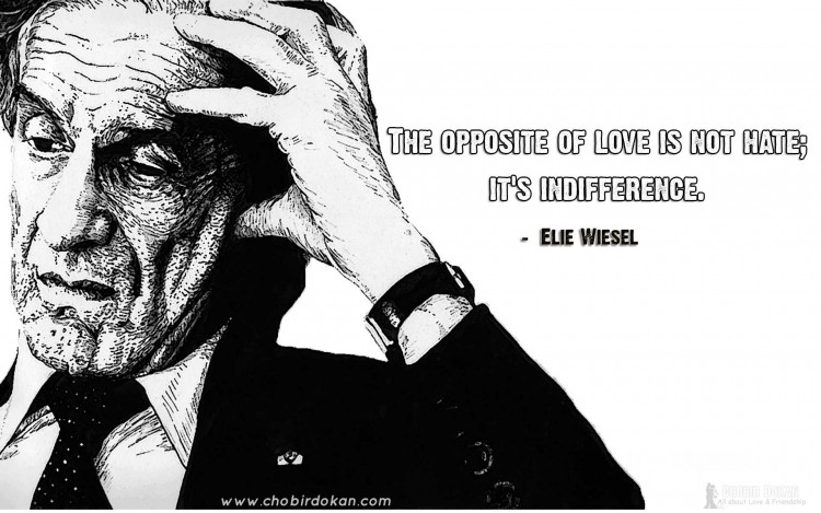 elie wiesel quotes on love