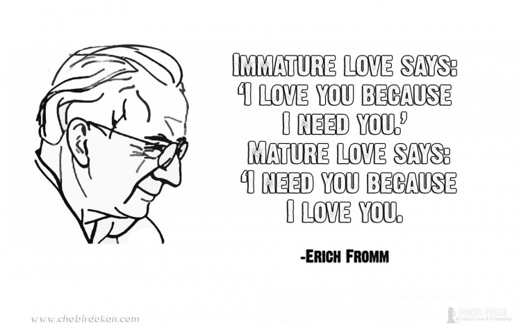 erich fromm quotes love