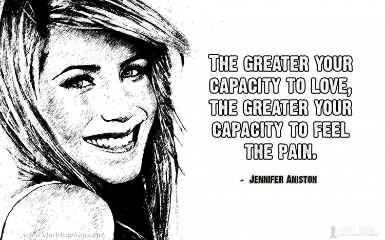 jennifer aniston quotes on love