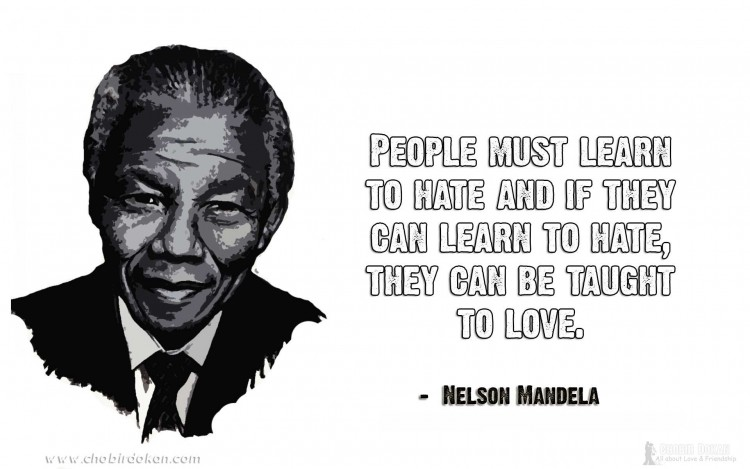 nelson mandela quotes on love