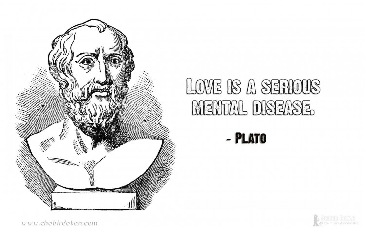 plato quotes about love