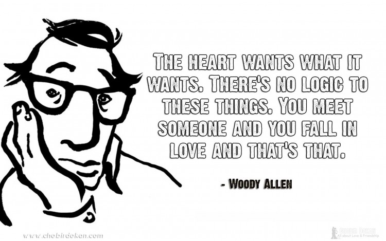 woody allen quotes on love