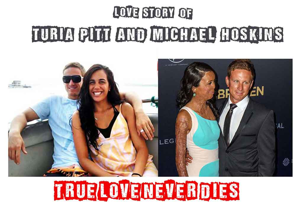 love story of turia pitt and michael hoskins