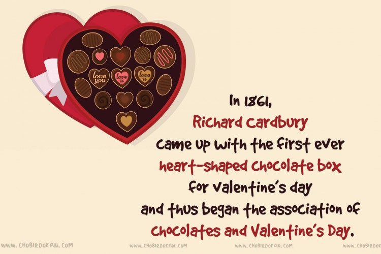 chocolate for valentine day