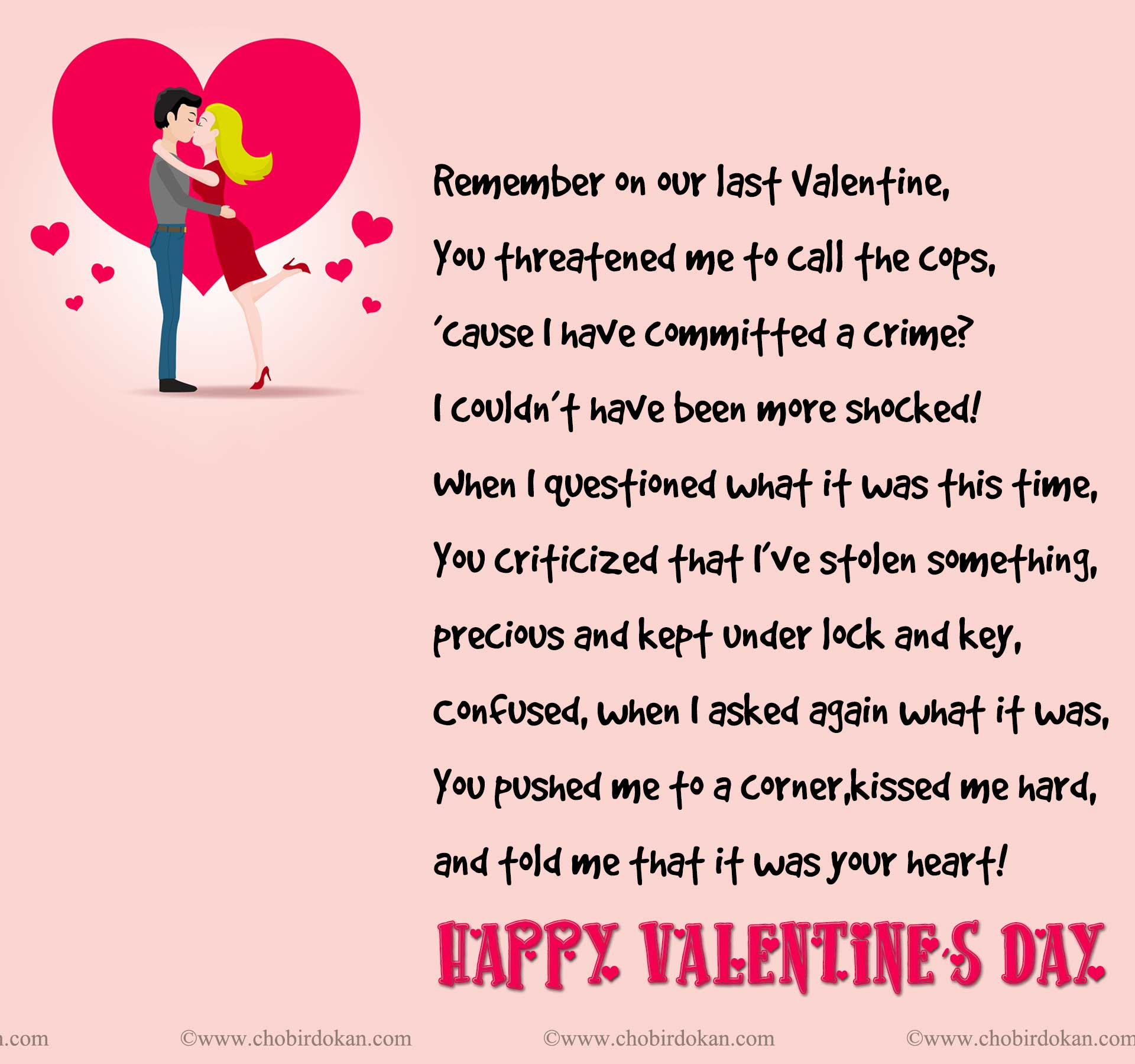 Boyfriend Quotes For Valentines Day: Valentines Poems For Him; For Your Boyfriend Or Husband