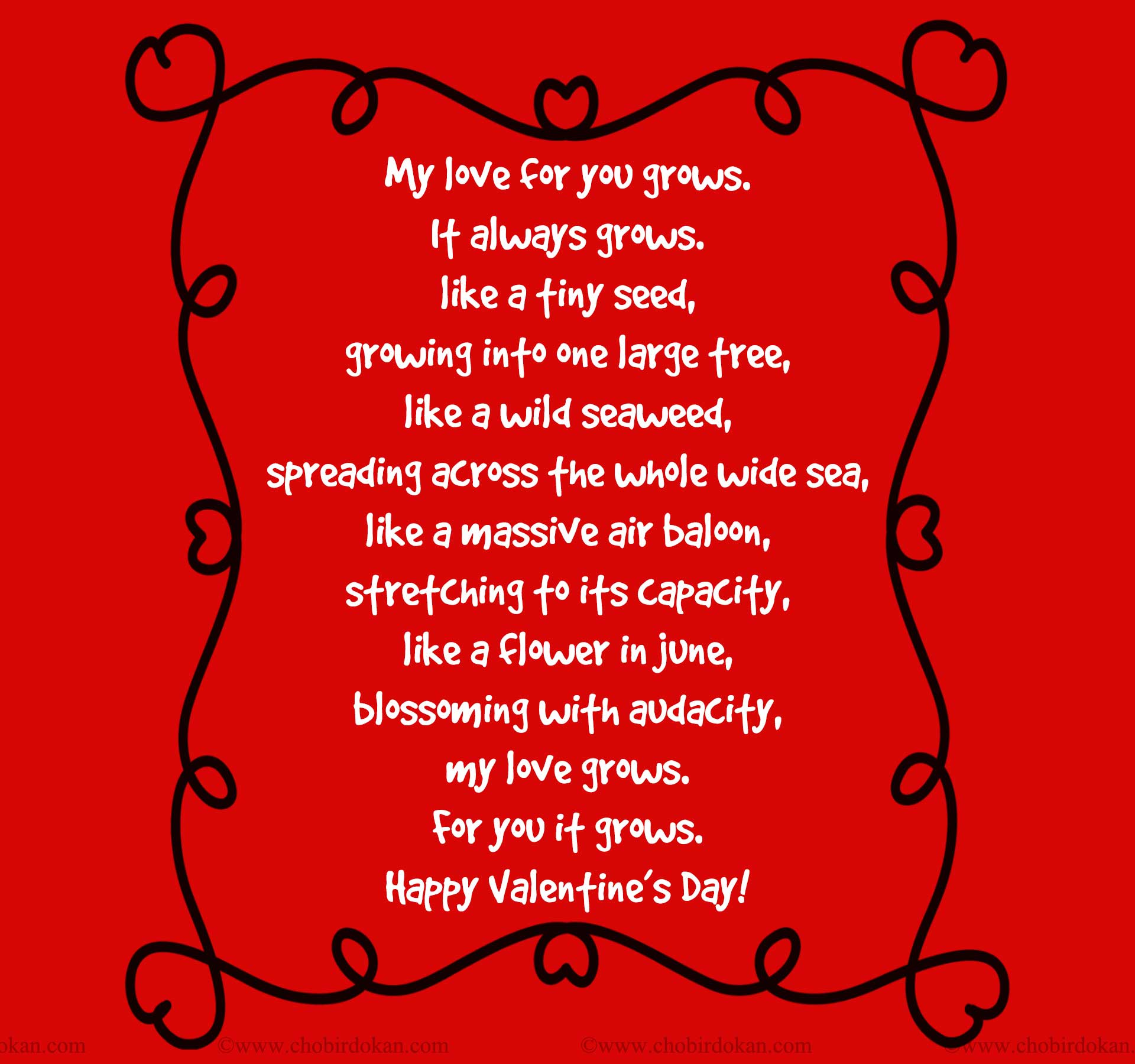 Schön Valentines Day Poems For Your Husband