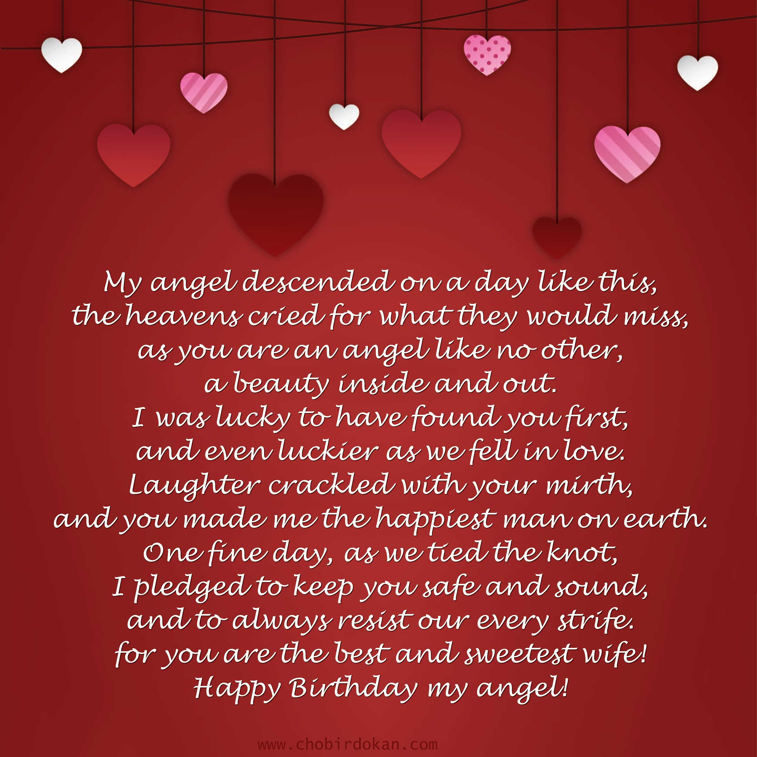 Romantic Happy Birthday Poems For Her For Girlfriend Or