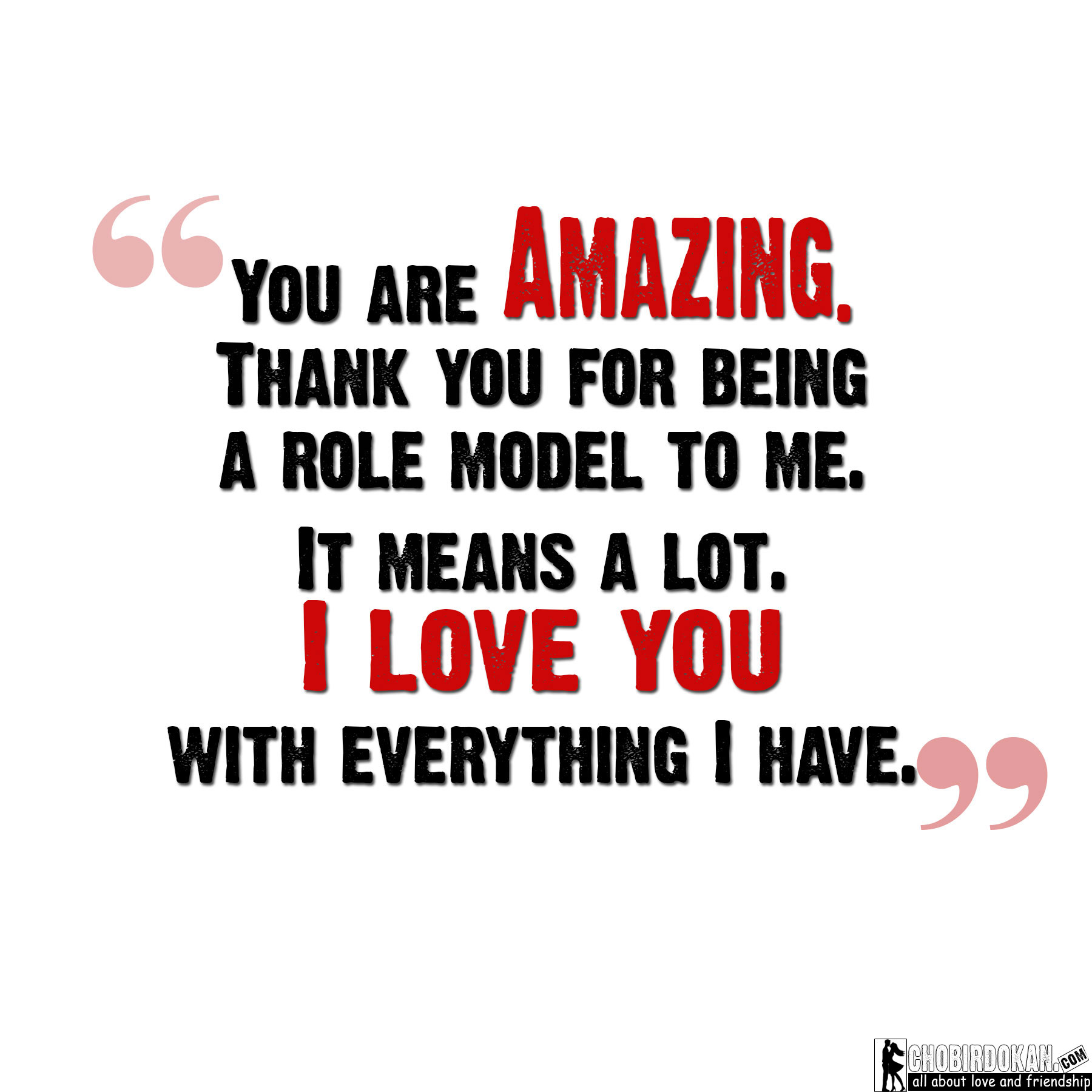 You Re Amazing Thank You: You Are Amazing Quotes For Him And Her With Images -Chobir