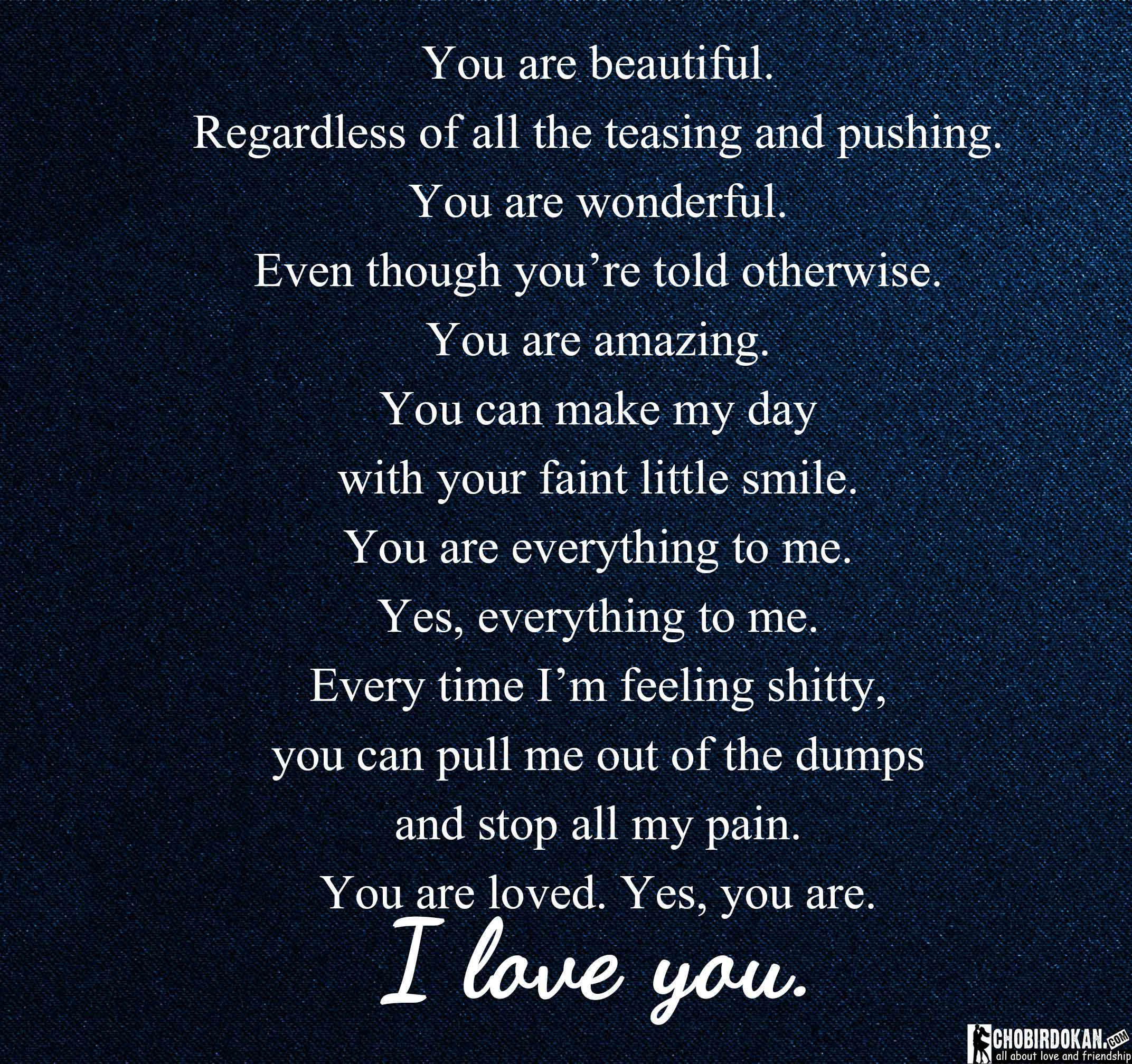 You are amazing quotes for him