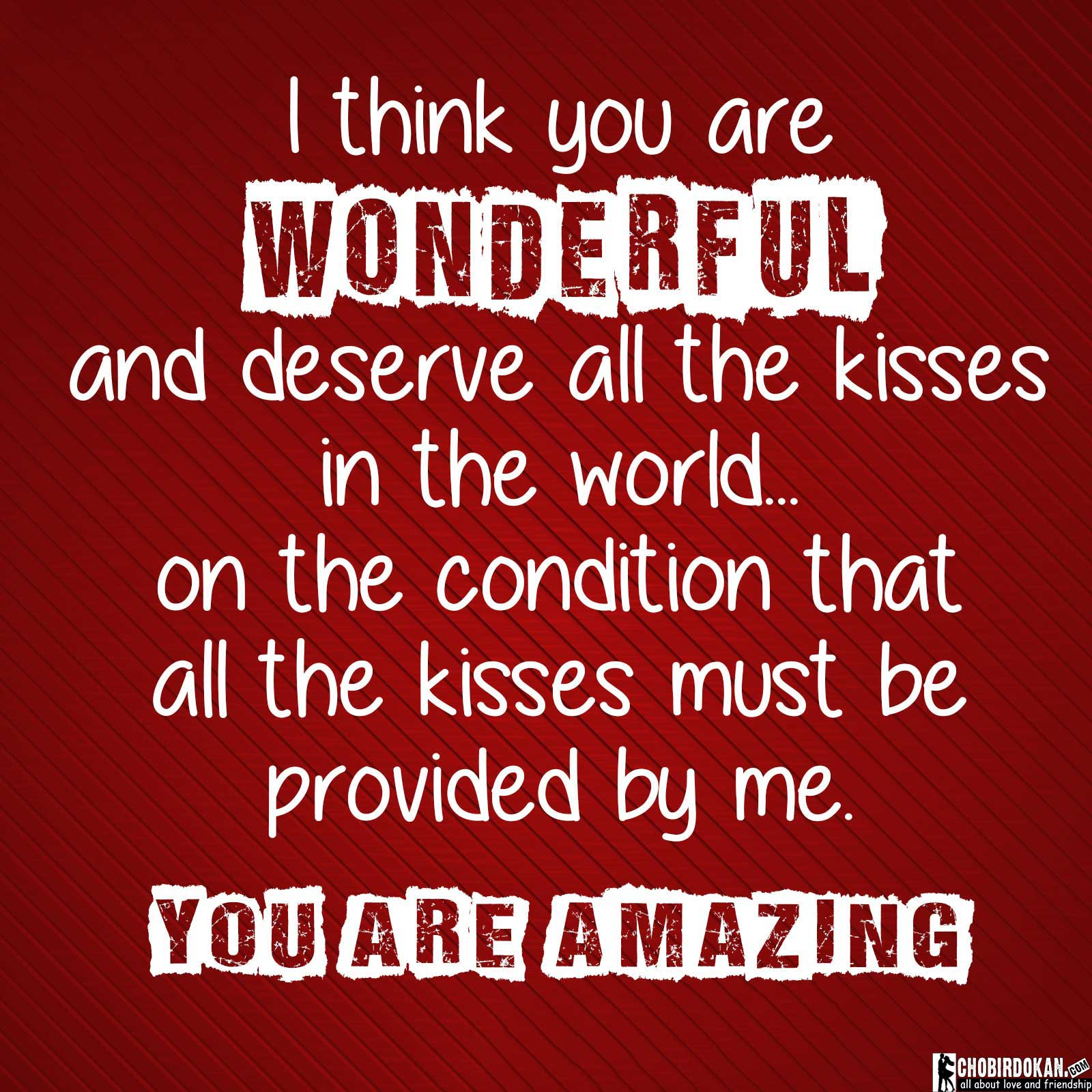 you are amazing quotes for him and her with images chobir dokan