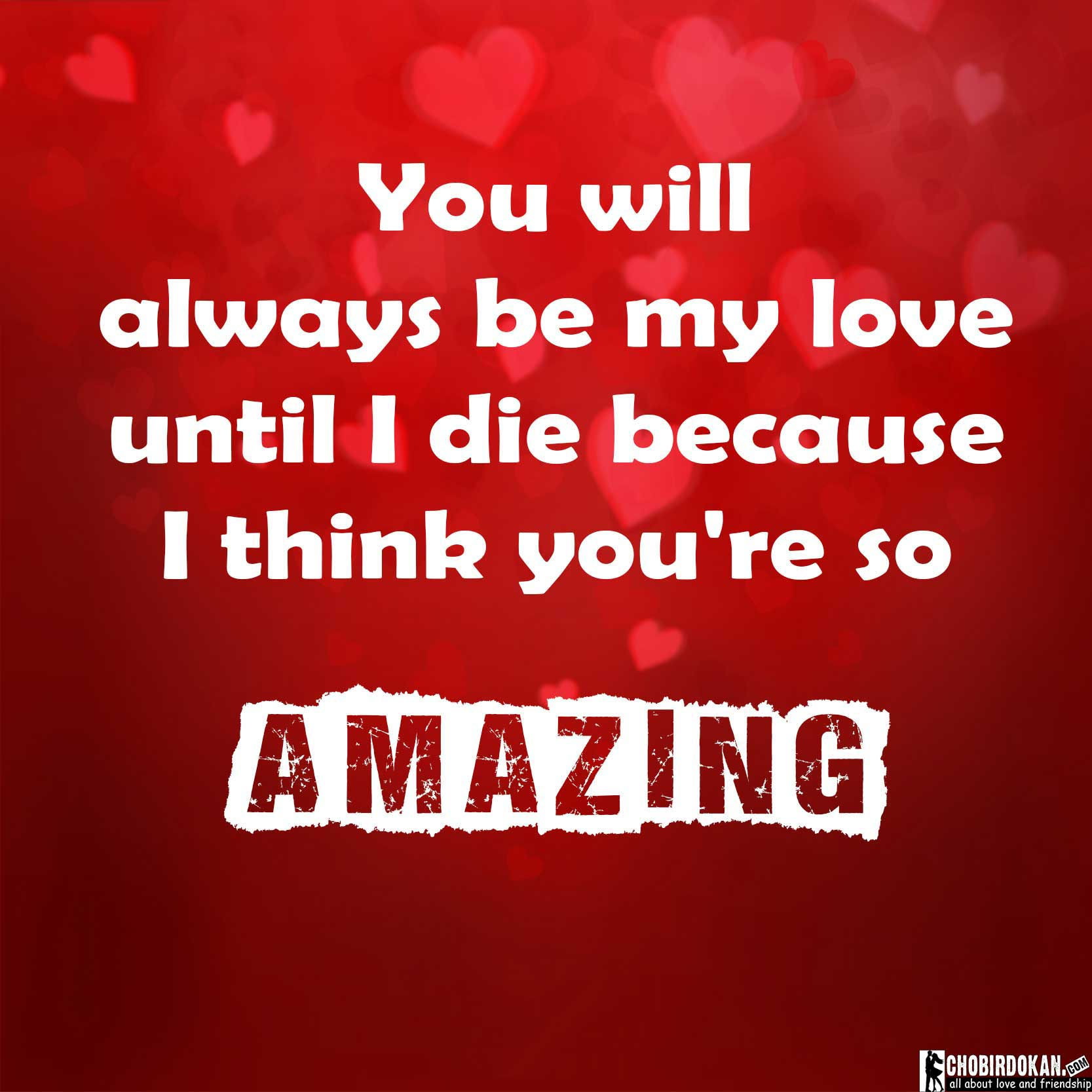 You Are Amazing And I Love You: You Are Amazing Quotes For Him And Her With Images -Chobir