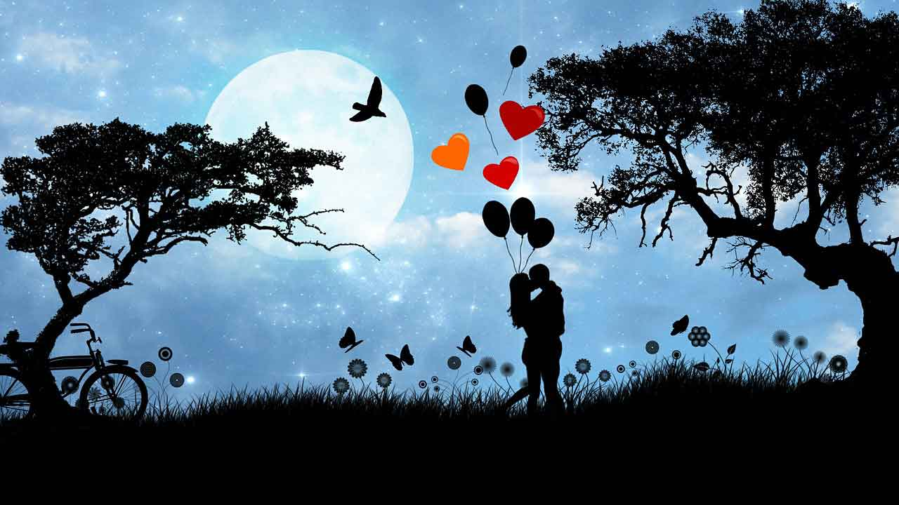 silhouette couple holding hands wallpapers