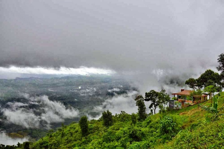 Cloud View from Nilgiri Hill Resort Bandarban Bangladesh