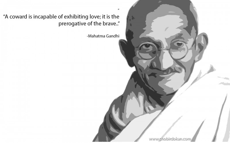 Mahatma Gandhi cute Quotes on Love