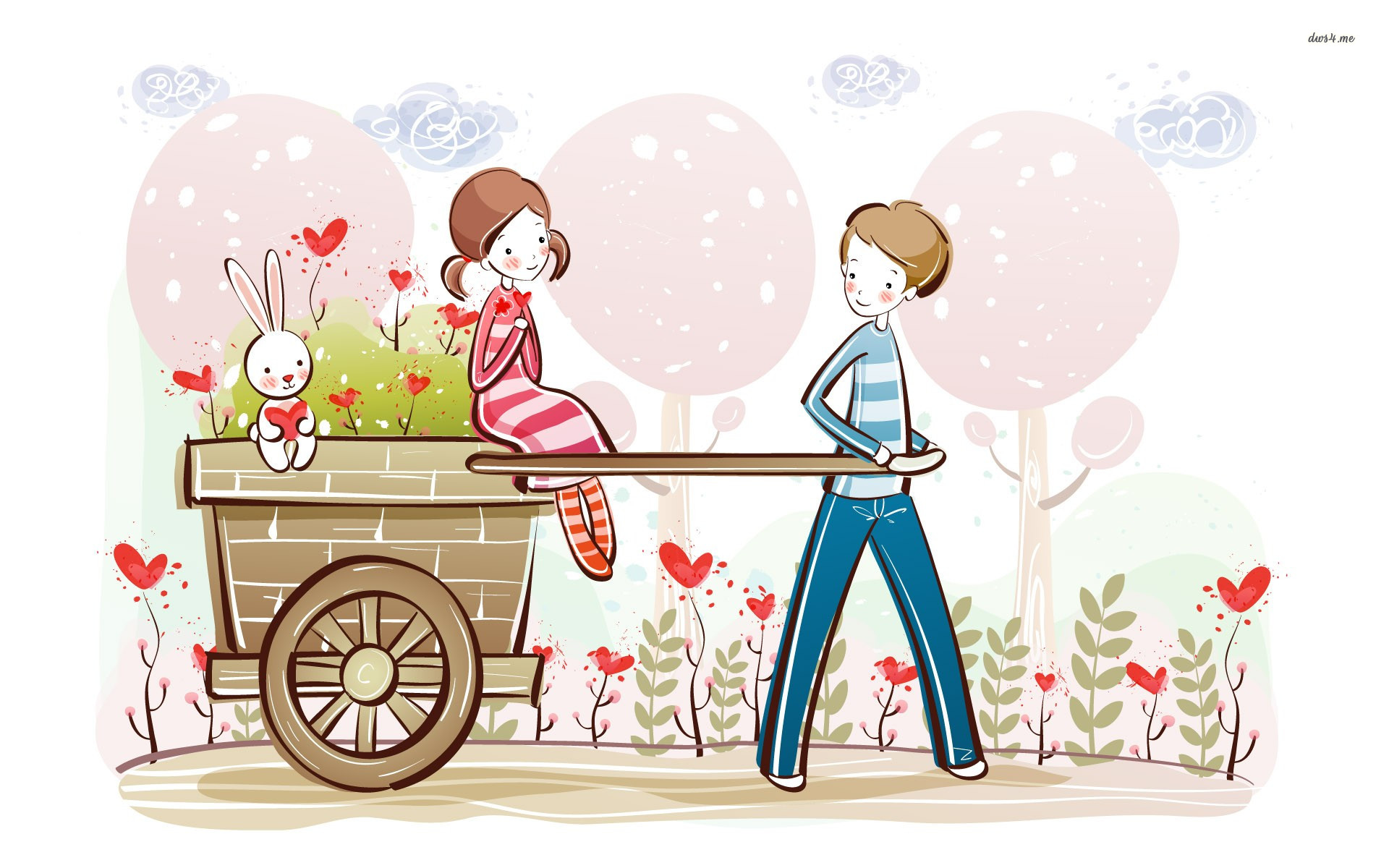 Beautiful Love Couple Cartoon HD Wallpaper Download - Romantic-Couples-Anime-Wallpapers  Graphic_391613.jpg?92dbd0\u002692dbd0