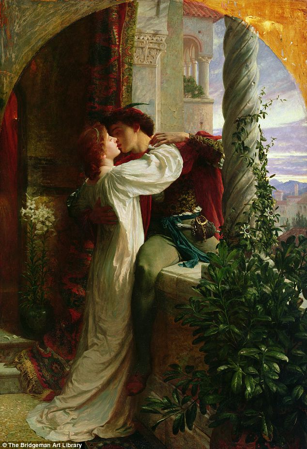 Romeo And Juliet A Famous Oil Painting