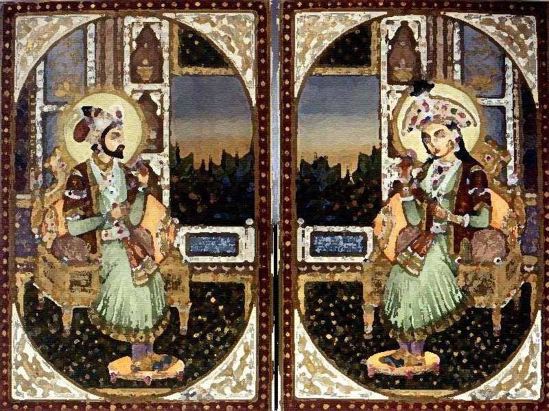 Shah Jahan and Mumtaz Mahal-Indian Love Couples in History and Literature