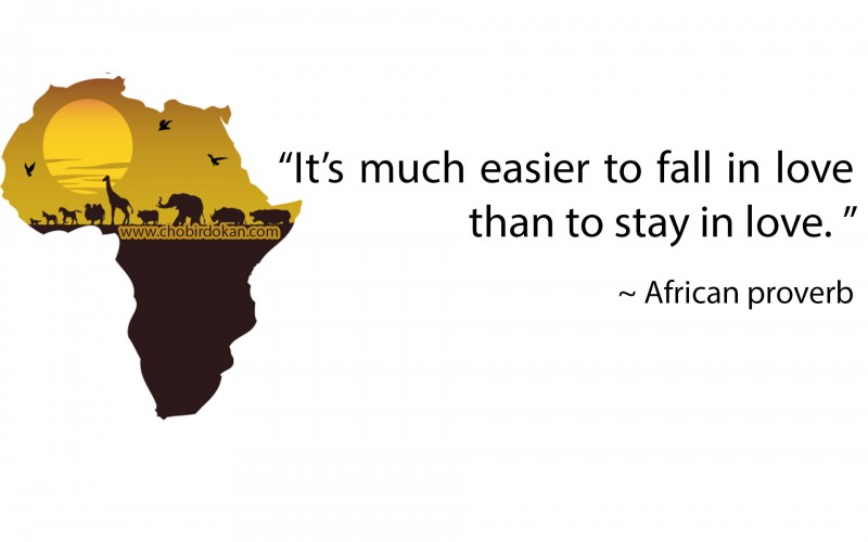 african love proverb