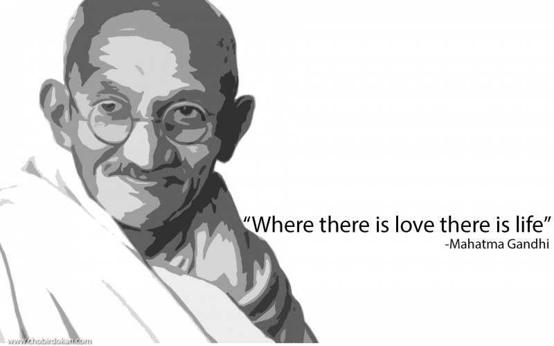 best Mahatma Gandhi Quotes on Love