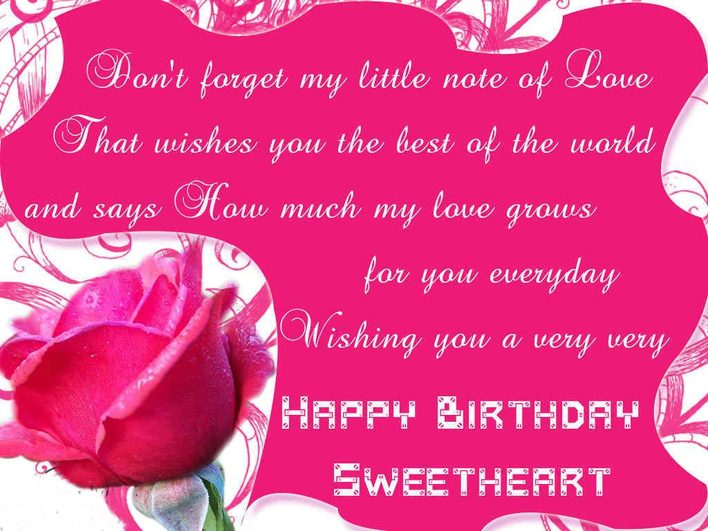 Best Happy Birthday Wishes Images For Girlfriend or Wife