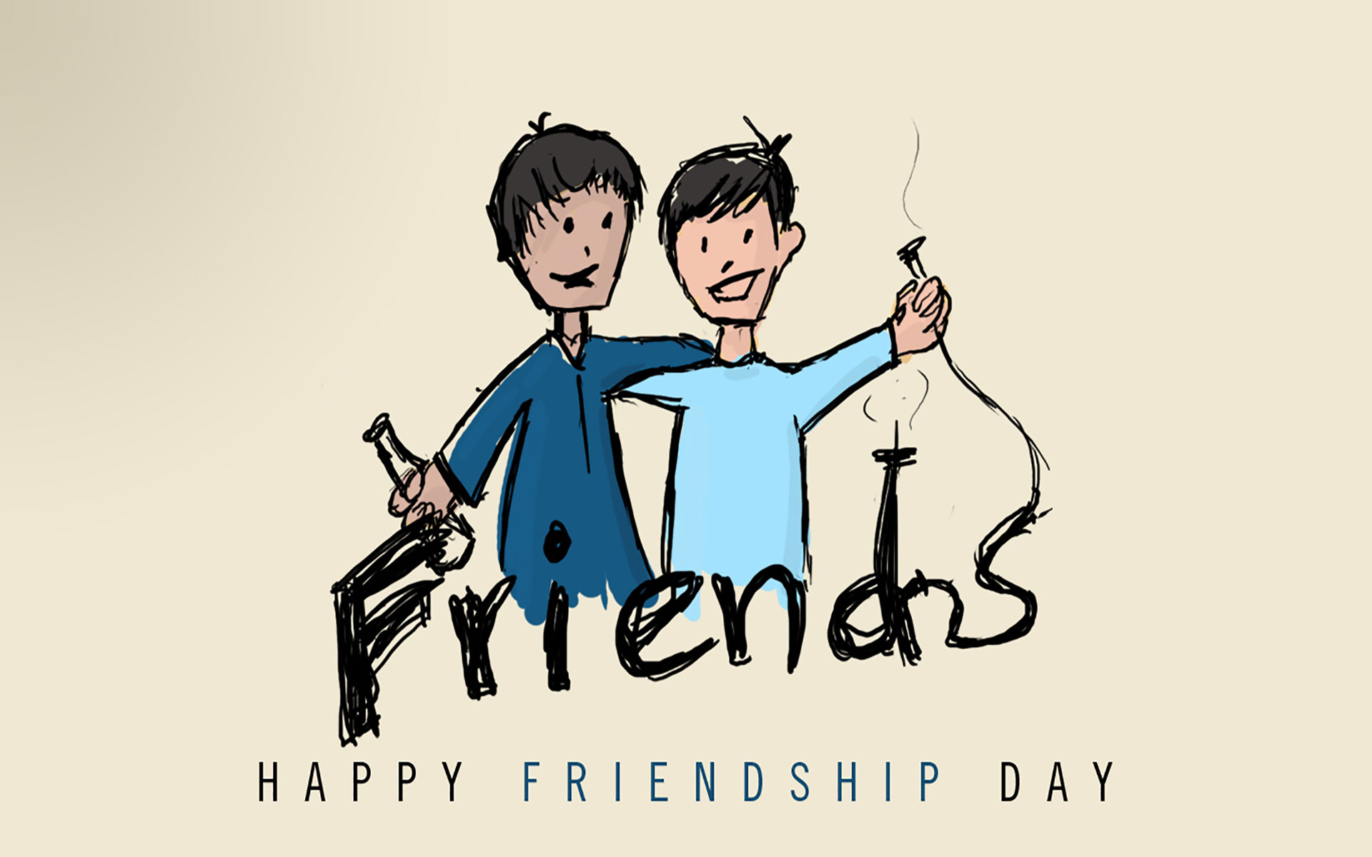 Wallpaper Happy Friendship Day Image For