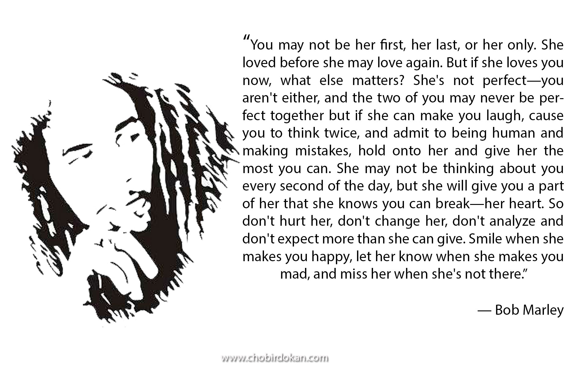 bob marly love quotes