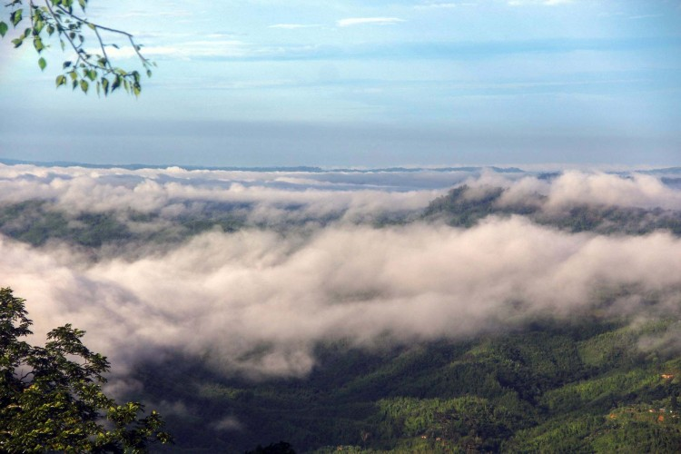 cloud view of Beautiful Sajek Valley