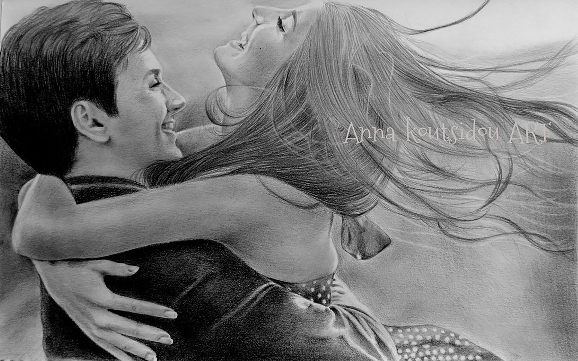 Cute love drawings pencil art |HD romantic sketch wallpaper