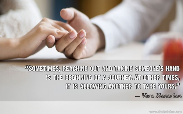couples holding hands image quote