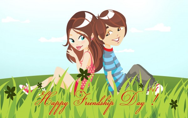 wallpaper happy friendship day