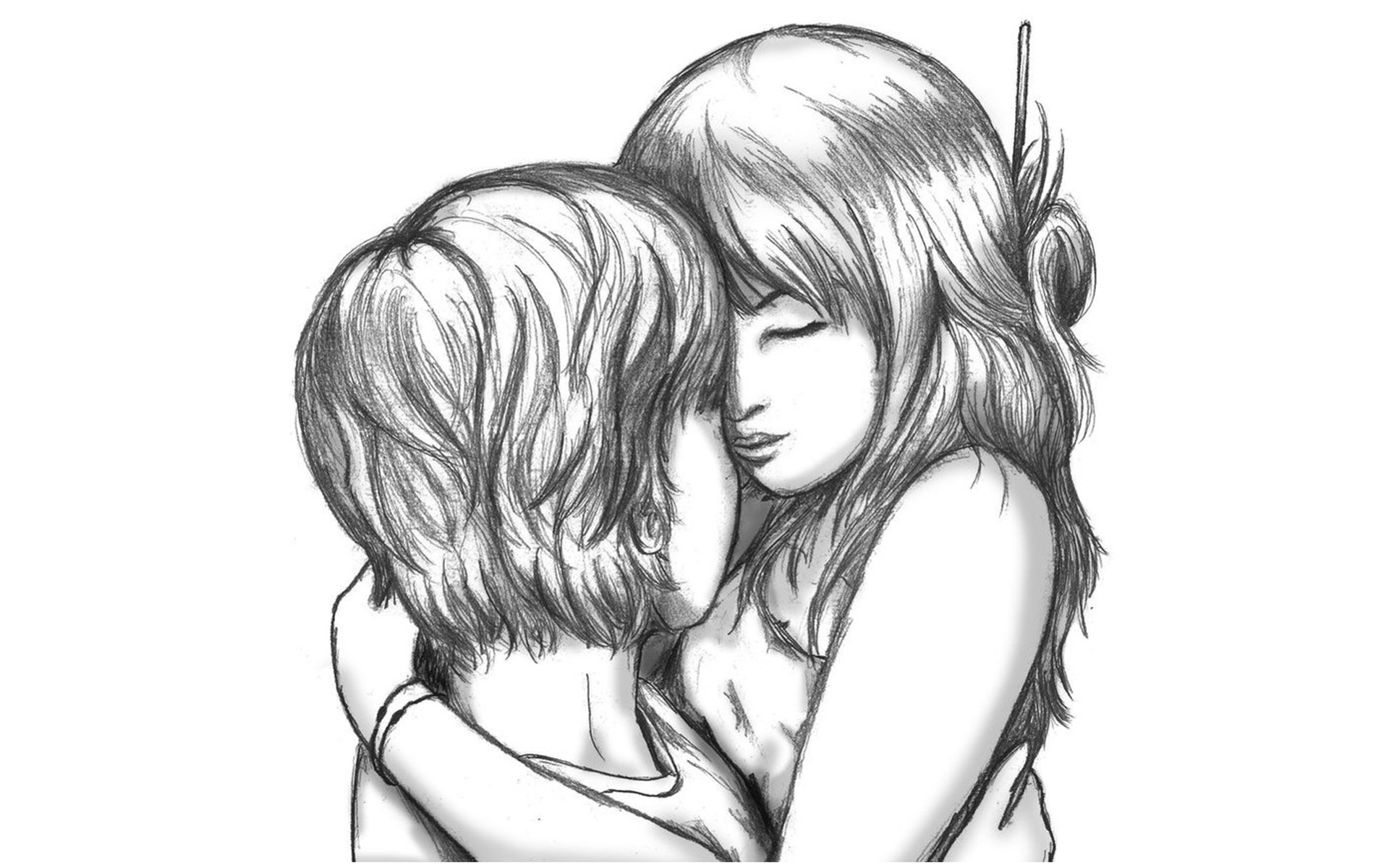 Cute love drawing pictures