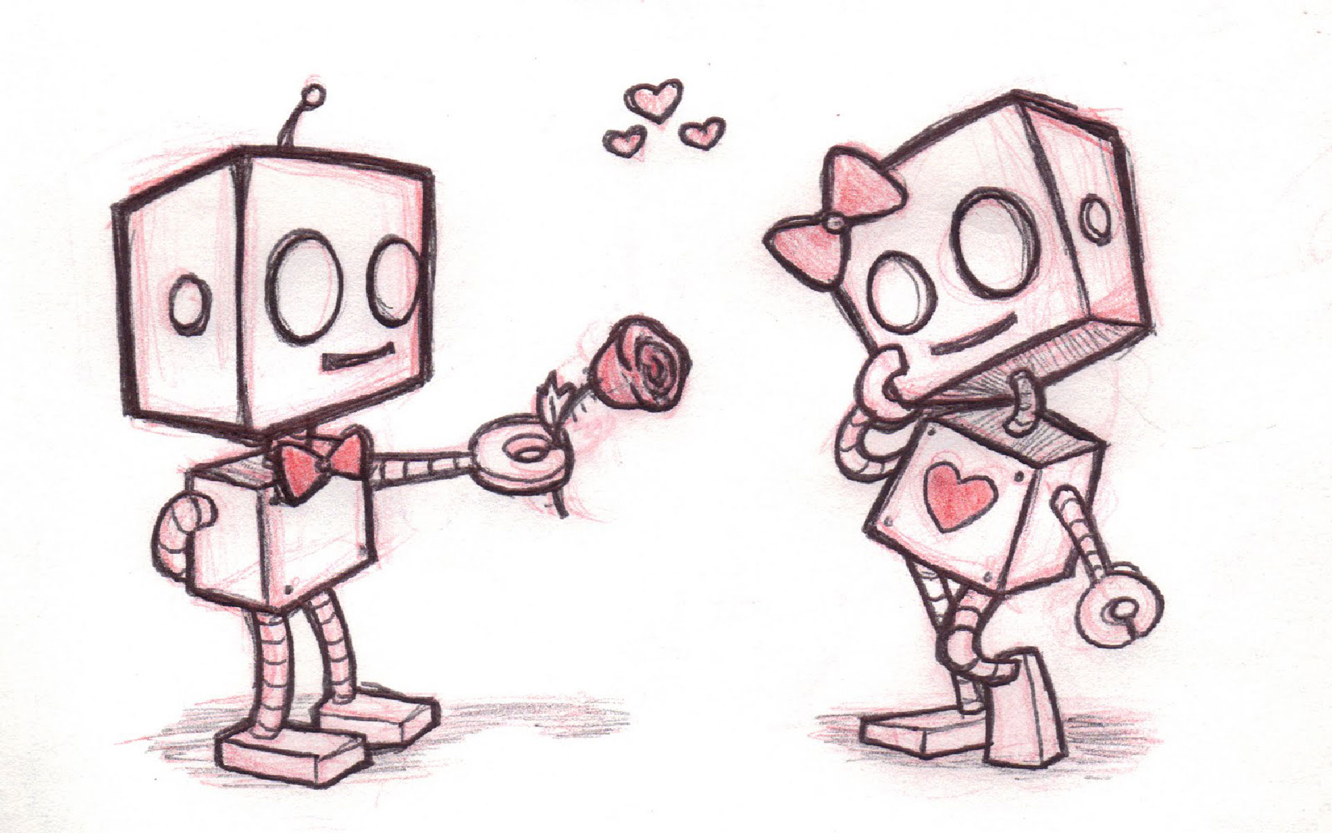 cute love drawings for her