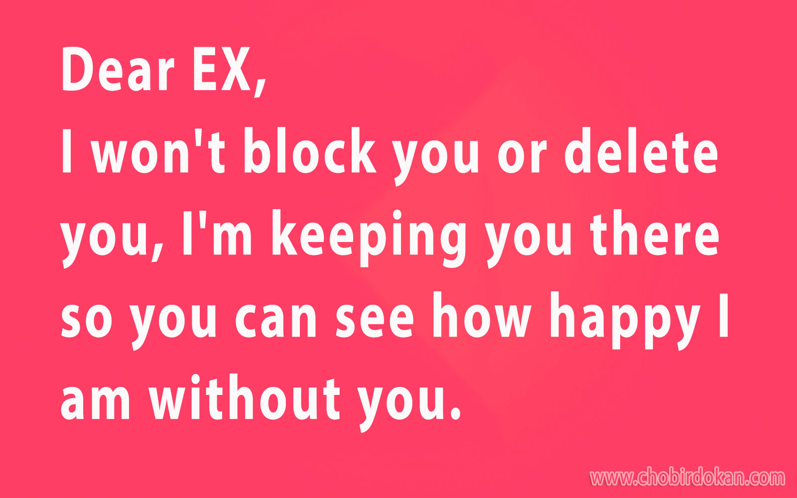 dating my ex boyfriend quotes