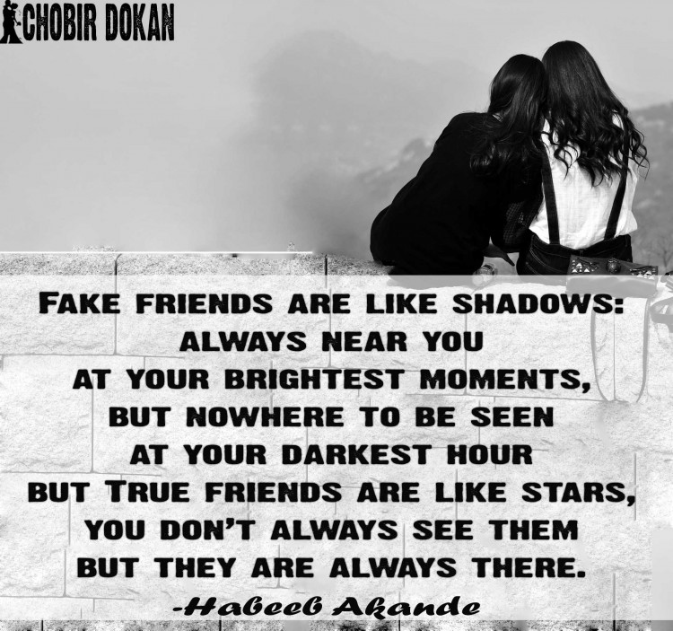 Fake Friends Quotes N Pics : Fake friends quotes images for facebook about bad