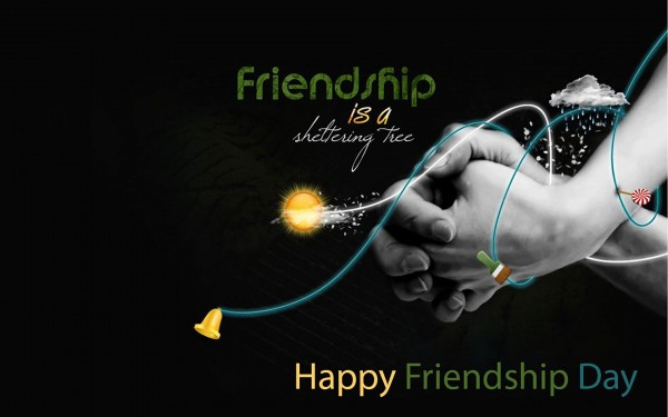 happy friendship day wallpaper hd