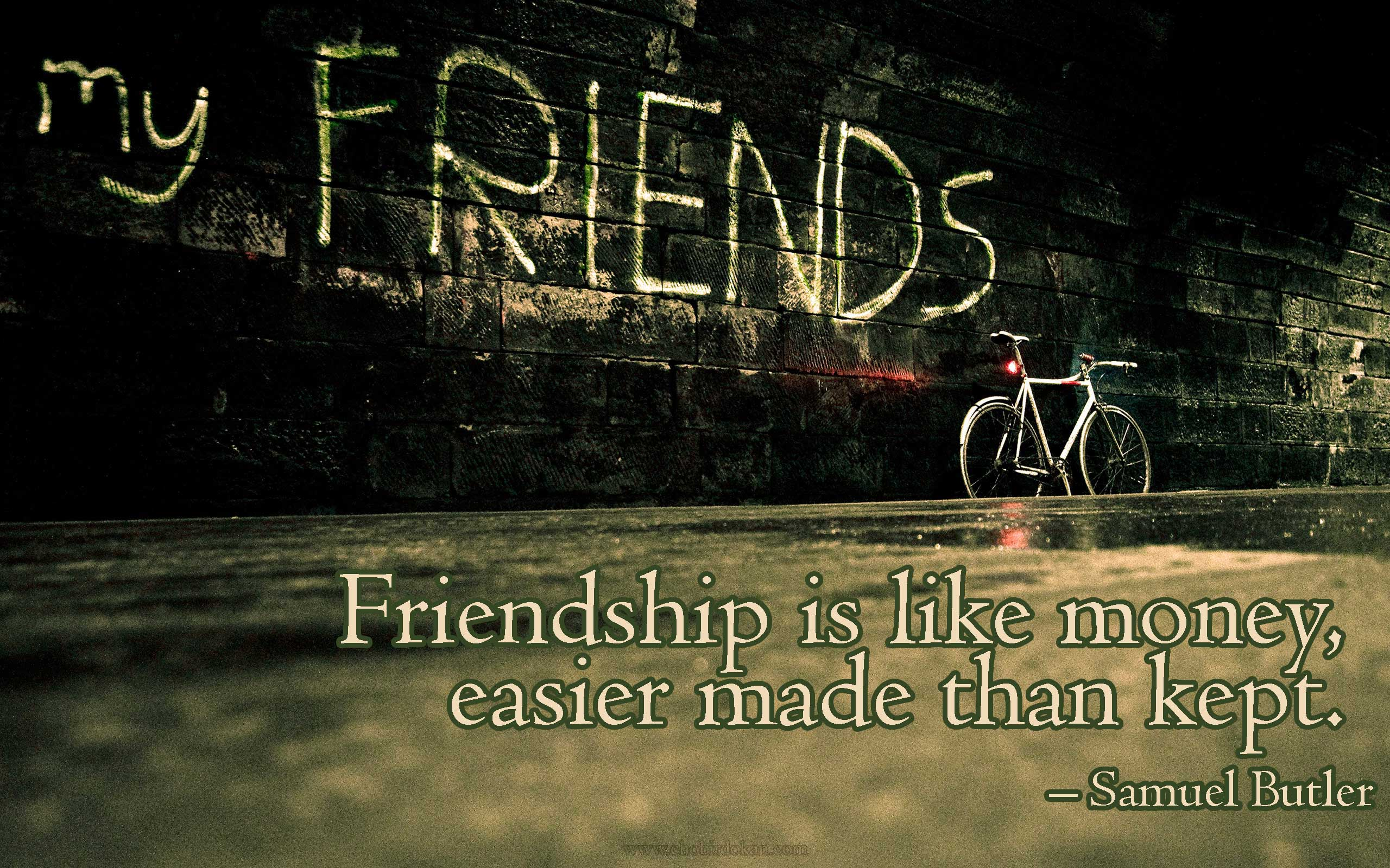 Quotes About True Friendship 40 Cute Friendship Quotes With Images  Friendship Wallpapers