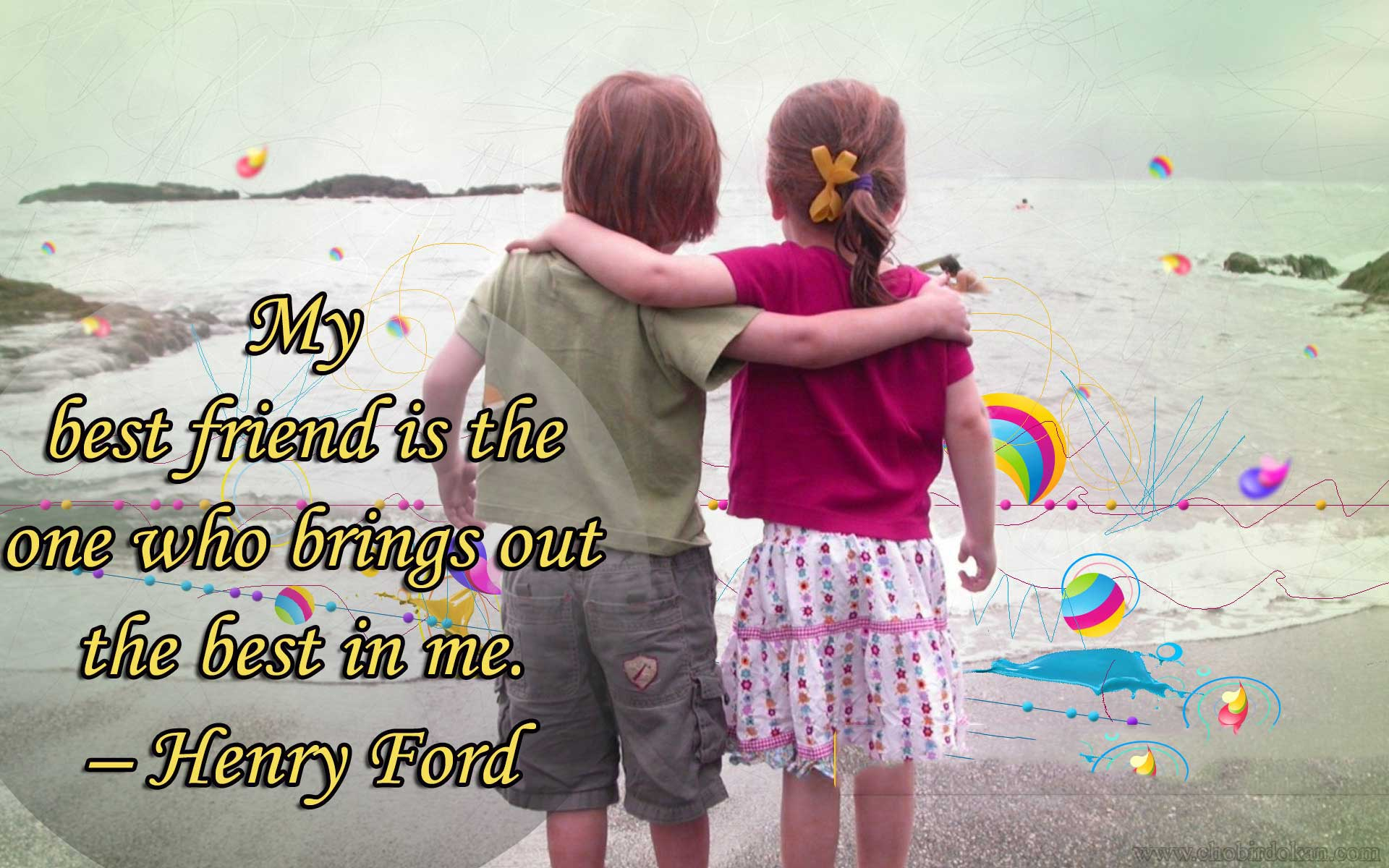 40+ cute friendship quotes with images | friendship wallpapers