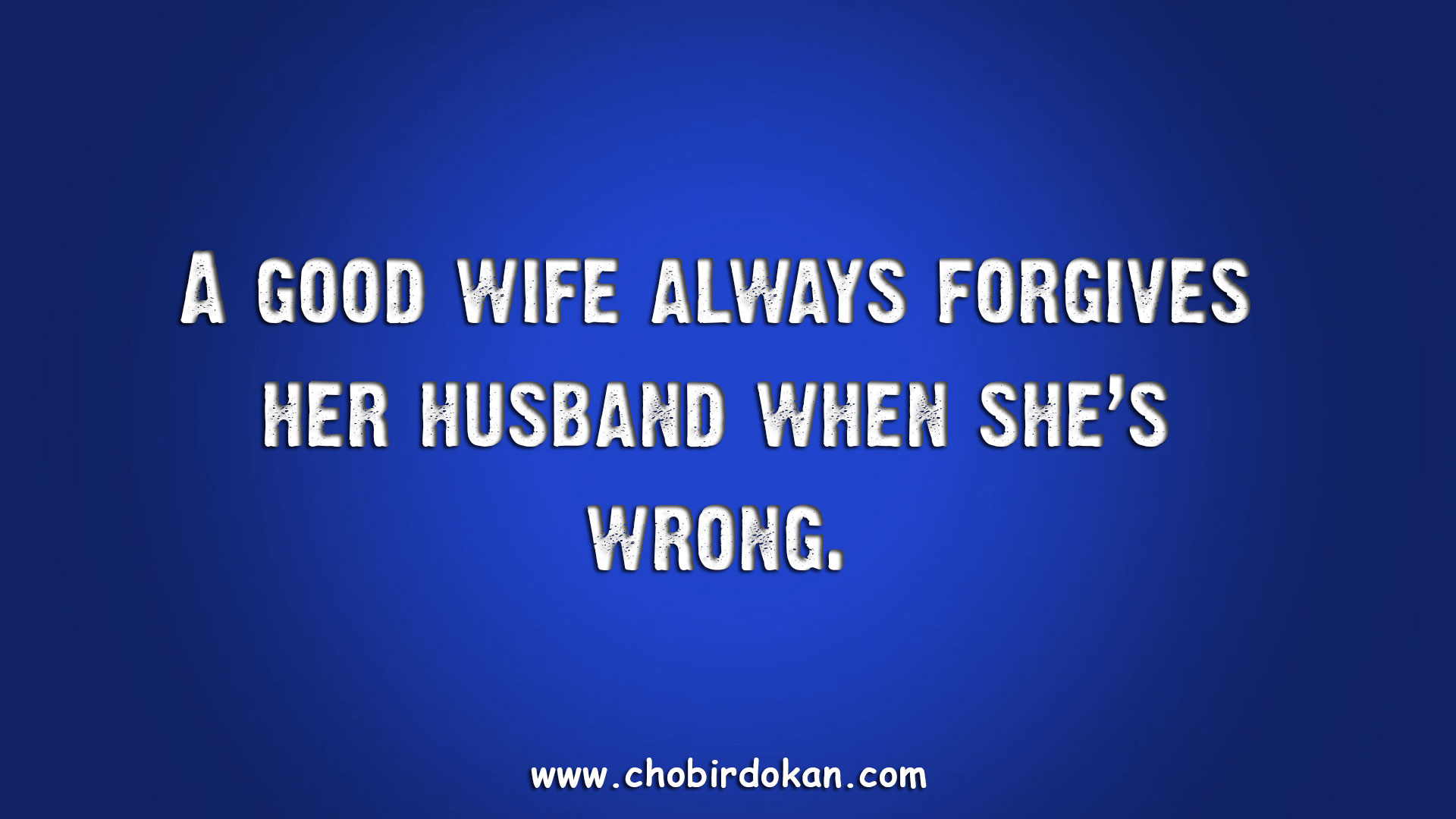 Funny Husband And Wife Quotes Images -Chobir Dokan